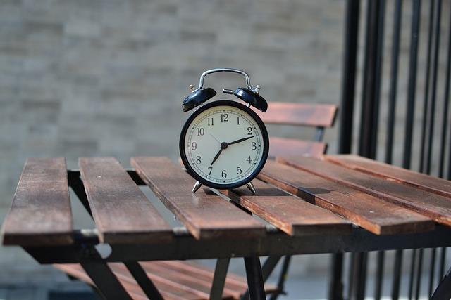Alarm Clock, Chair, Clock, Table, Time