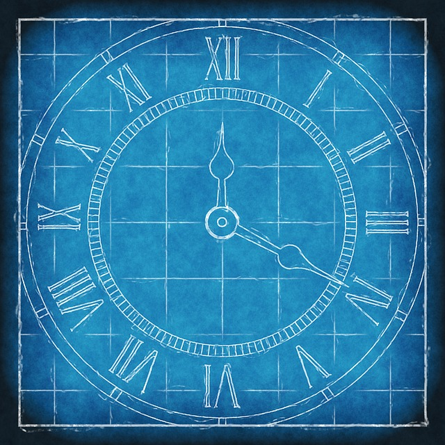 Clock, Time, Blueprint, Time Clock, Timepiece, Dial