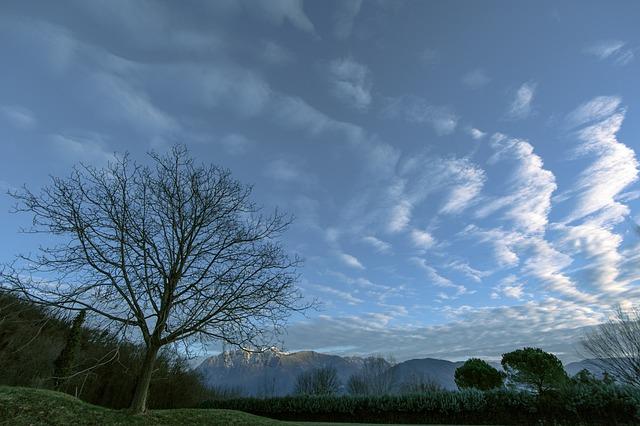 Dark, Carnia, Friuli, Sky, Clouds, Nature, Time