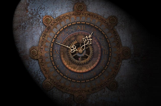 Dial, Gears, Moondial, Moon Time, Full Moon, Time