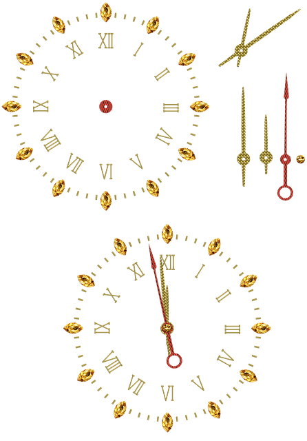 Clock, Dial, Pointer, Isolated, Time Indicating