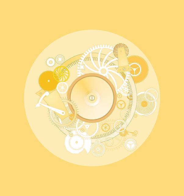 Watch, Mechanism, Time, Gears, Mechanical, Golden