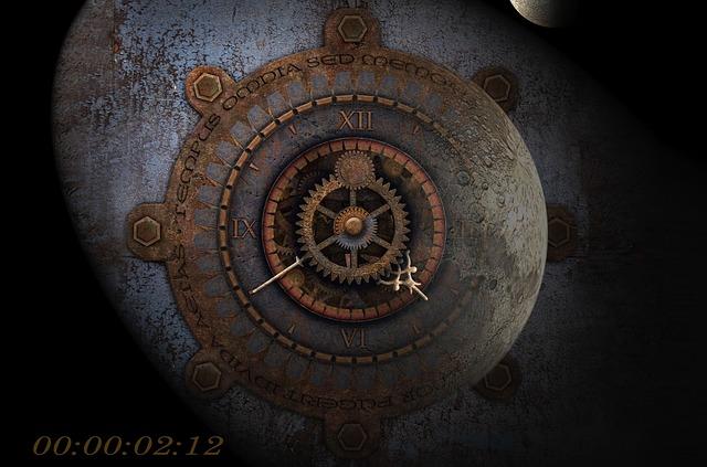 Moondial, Moon Time, Full Moon, Time, Moonlight