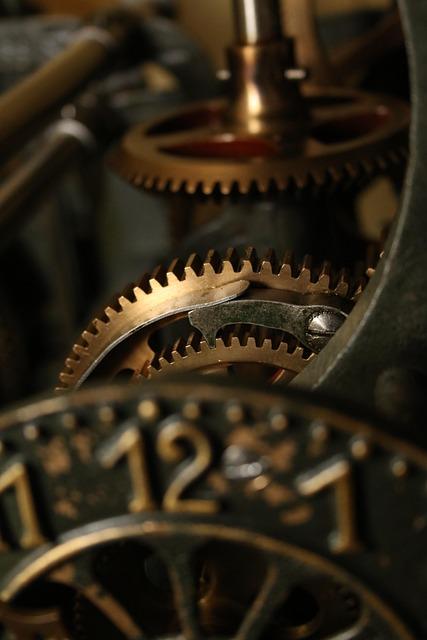 Movement, Church, Stettlen, Gears, Time Of, Clock
