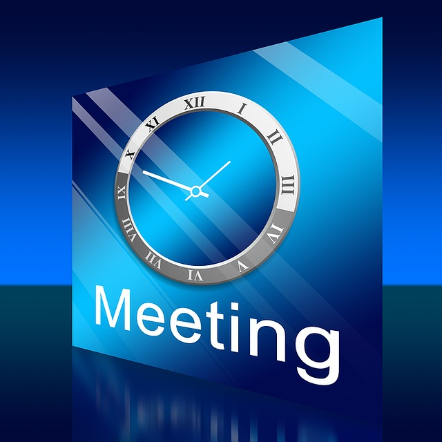 Meeting, Clock, Time, Time Of, Office, Together