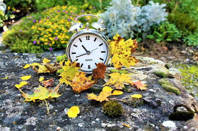 Clock, Vanishing, Autumn, Time Passes, Looseness