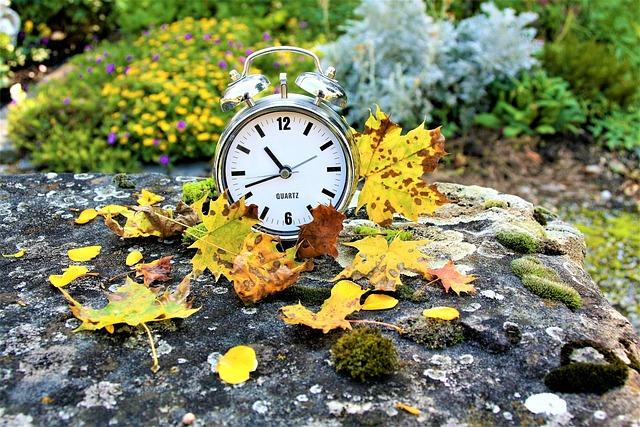 Clock, Vanishing, Autumn, Time Passes, Looseness