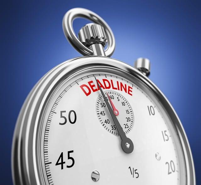 Deadline, Stopwatch, Clock, Time, Pressure, Watch
