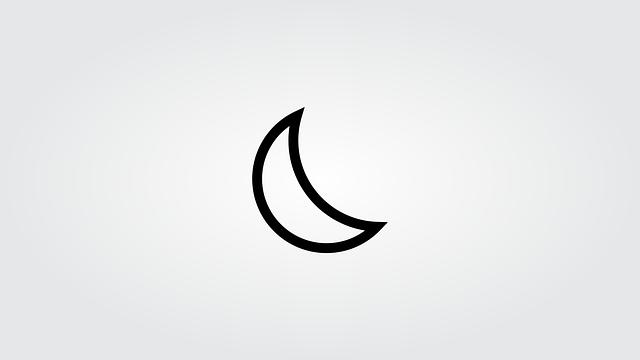 Moon, Night, Time, Nocturne, Dark, Sky, Lighting