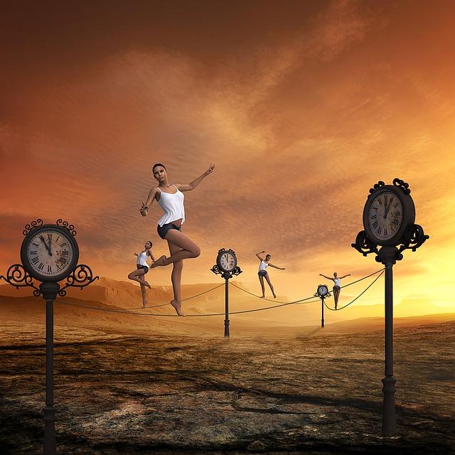 Time, Fast Moving, Balancing Act, Passes, Stress