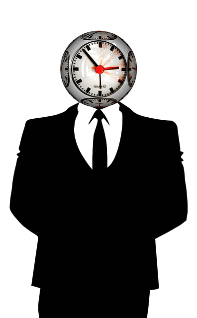Time, Clock, Man, Businessman, Tie, Suit, Working Time