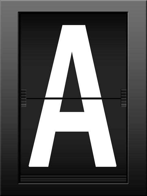 Alphabet, A, Literacy, Letters, Read, Font, Timeline