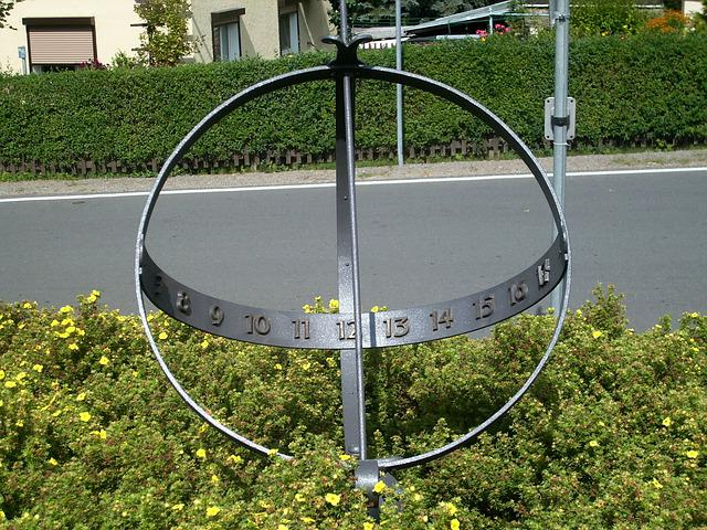 Sundial, Time Of, Time Indicating, Timepiece, Sunlight