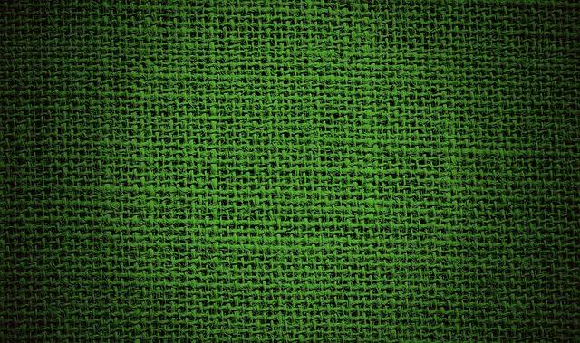 Background, Fabric, Coarse, Green, Tissue