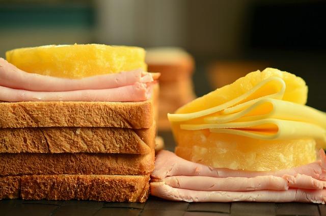 Toast, Cheese, Cheese Slices, Toast Hawaii