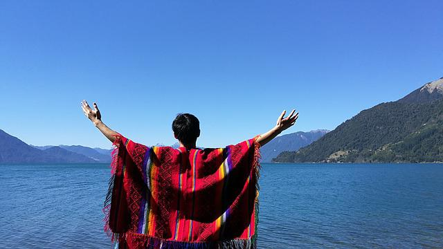 Lake, Todos Los Sandos, Chile