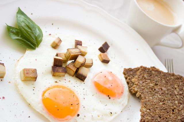 Egg, Fried, Bread, Tofu, Breakfast, Whole Wheat