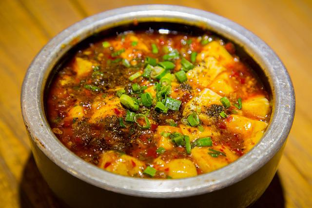Mapo Tofu, Tofu, Bean Paste, Sichuan, China, Gourmet