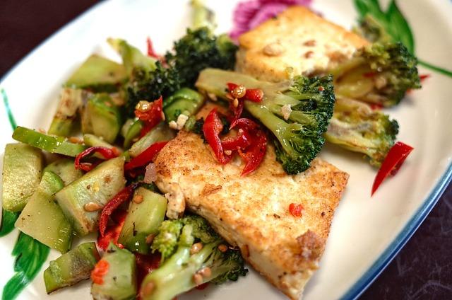Vegetarian, Korean Food, Tofu, Cooking, Side Dish