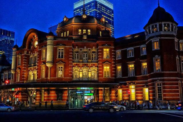 Tokyo, Japan, City, Cities, Urban, Night, Evening