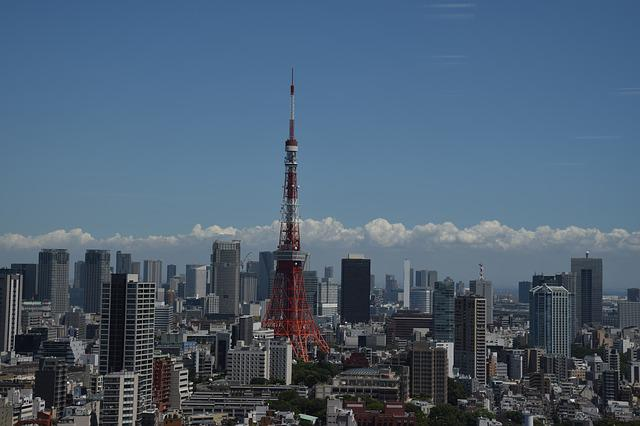 Tokyo Tower, Tokyo, Japan, City, Cityscape