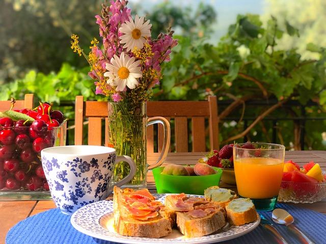 Breakfast, Alegre, Food, Bread, Healthy, Tray, Tomato