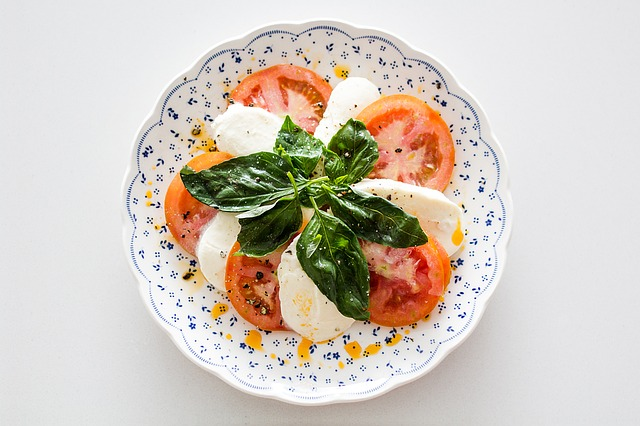 Caprese, Salad, Food, Cheese, Mozzarella, Tomato, Oil