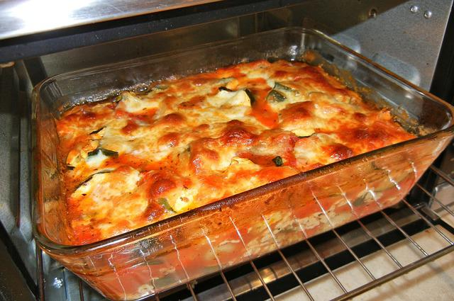 Gnocchi, Baked, Cheese, Zucchini, Tomatoes, Food