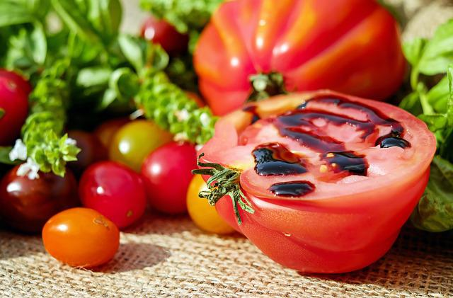 Tomatoes, Colorful, Vitamins, Fresh, Eat, Delicious