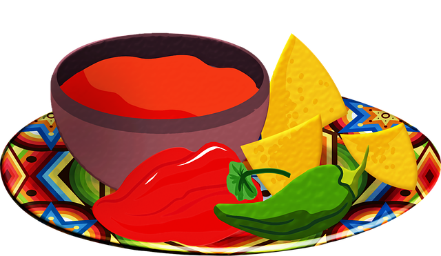 Salsa, Chips, Tomatoes, Red Chili, Tortilla Chips