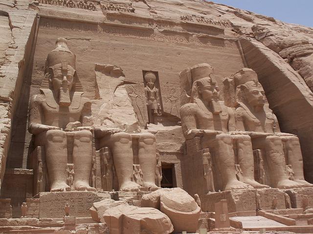 Ramses 2, Tomb, Abu Simbel, Ancient Egypt