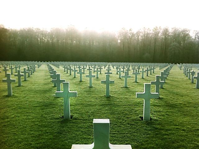 Cemetery, Fallen Soldier, Tomb, Cruz