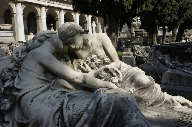 Staglieno, Cemetery, Genoa, Tombstone, Death, Human