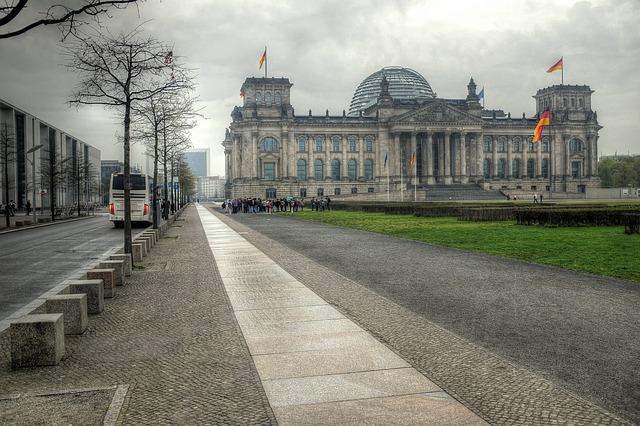 Reichstag, Berlin, Germany, Tonemap, City