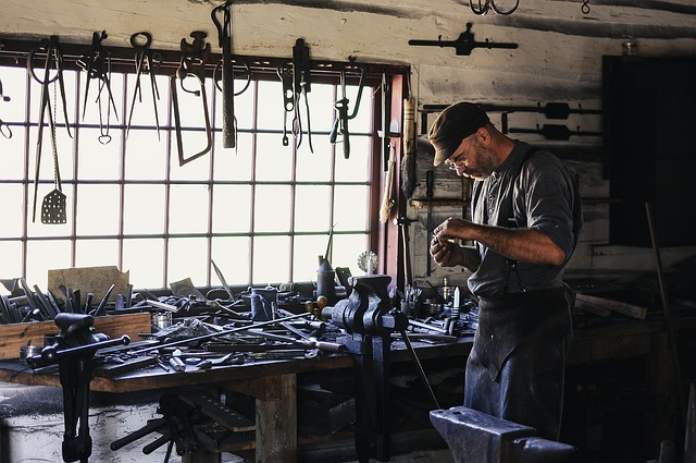 Adult, Artisan, Tools, Workshop, Craftsman, Equipments