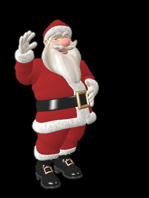 Santa Claus, Toon, Fig, Christmas, Niikolaus, Advent