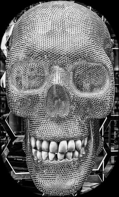 Skull, Skull And Crossbones, Tooth, Symbol, Risk, Death