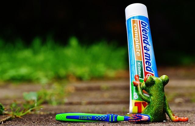 Toothpaste, Frog, Toothbrush, Brushing Teeth, Hygiene