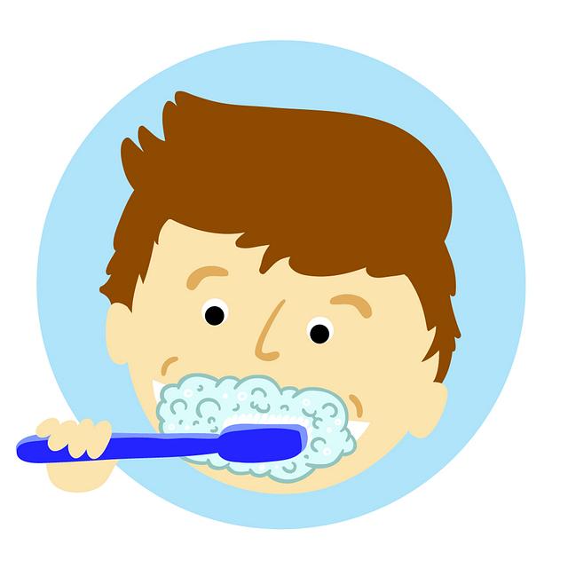 Brushing Teeth, Tooth, Dental, Teeth, Toothbrush, White