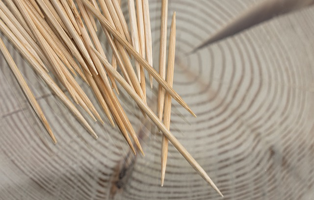 Toothpick, Wood, Close, Annual Rings