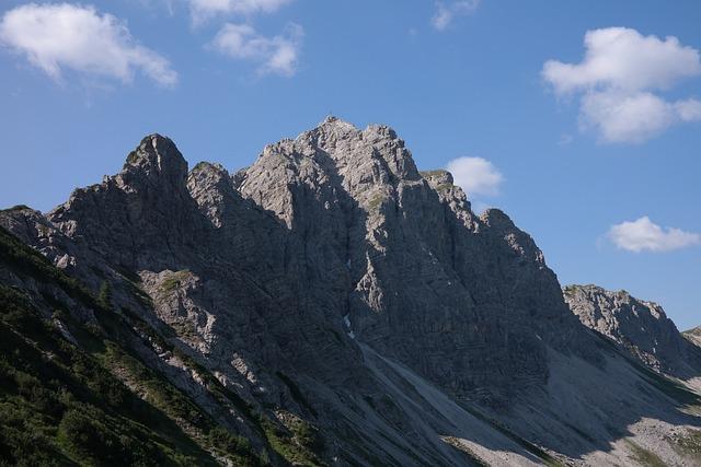 Top Of Pools, Mountain, Summit Cross, Cross