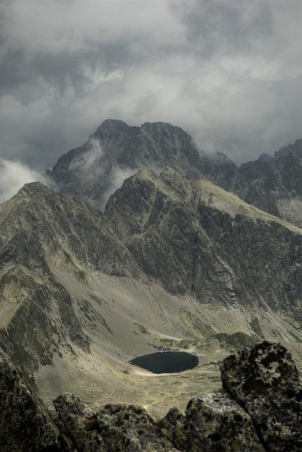 Slovakia, Tatry, Landscape, Top View, Mountains, Nature