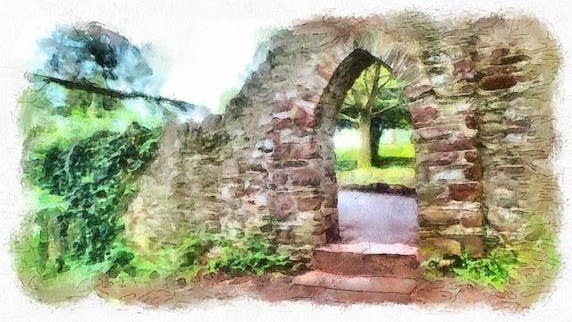 Brixham, Arch, Park, Torbay, Passage, Backwoods, Tree