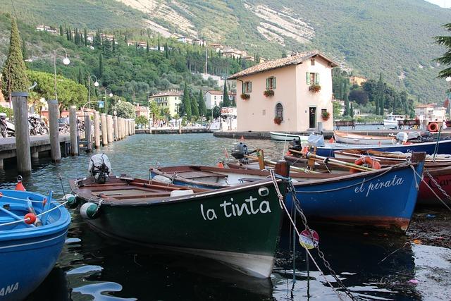 Torbole, Garda, Port, Garda Mountains, Boat Mooring