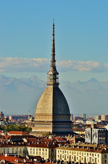 Torino, Mole, Italy, Antoneliana, Piemonte, Landscape