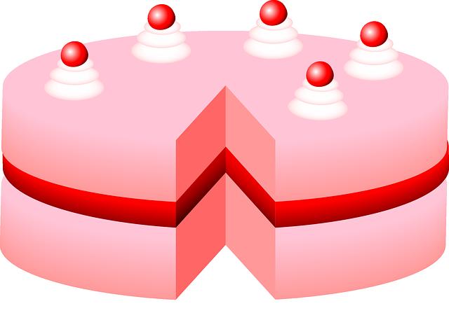 Cake, Torte, Birthday, Dessert, Food, Sweet, Cherries