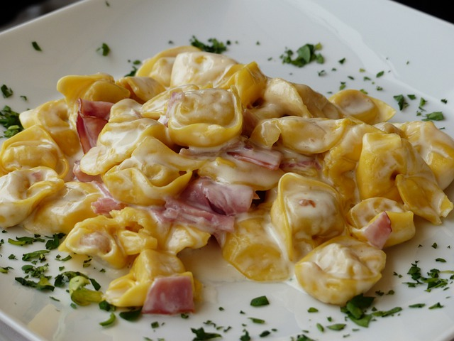 Tortellini, Noodles, Pasta, Italian, Eat, Food