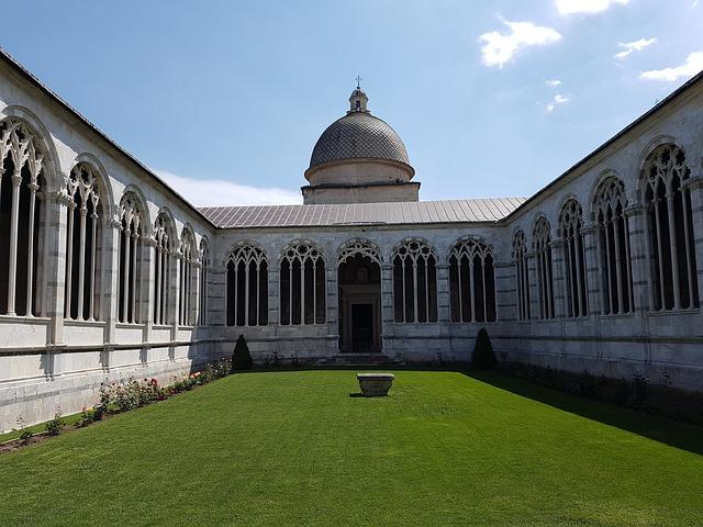 Pisa, Campo Santo, Cemetery, Italy, Toscana