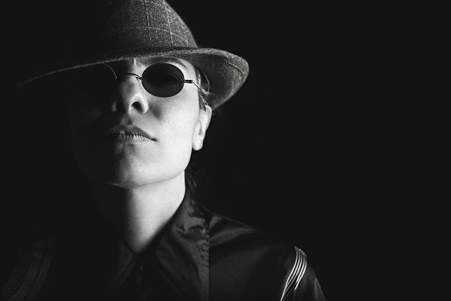 Man, Hat, Glasses, Gangster, Tough, Attitude, Toughness