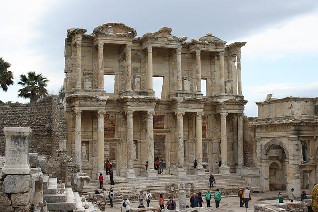Turkey, Ephesus, Tour, Antiquity, Historically, Stone